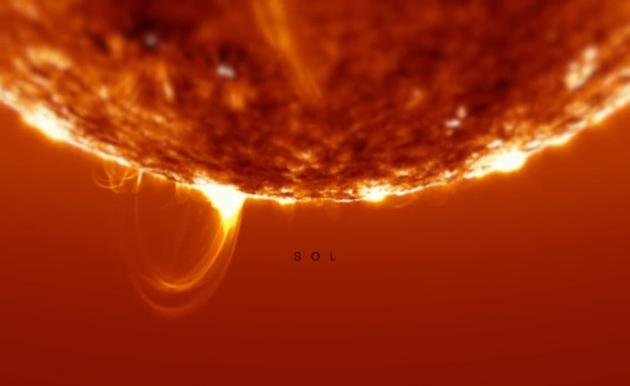 Визуализация Солнца